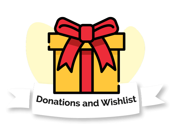 Make a donation to Jeremiah's Place or view our Wishlist