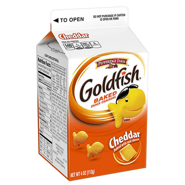 Donate Pepperidge Farms Goldfish Crackers and more to Jeremiah's Place