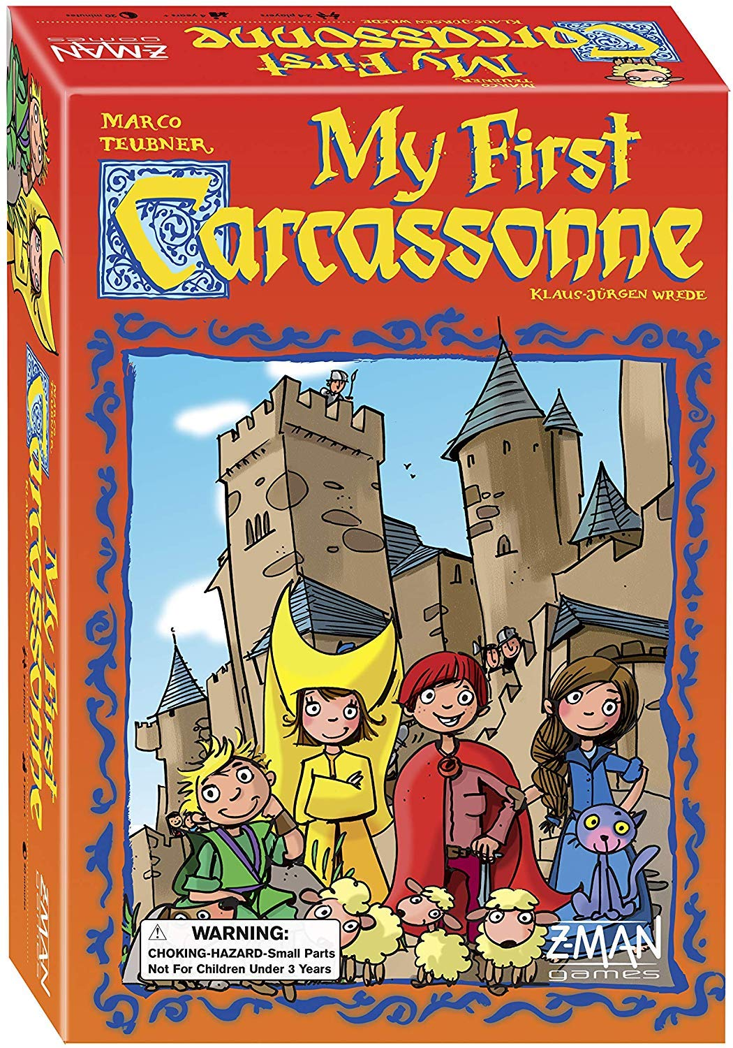 My First Cacassonne Board Game
